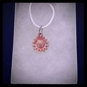 Jewelry - 🔵SALE! Rose Gold Sunflower Necklace